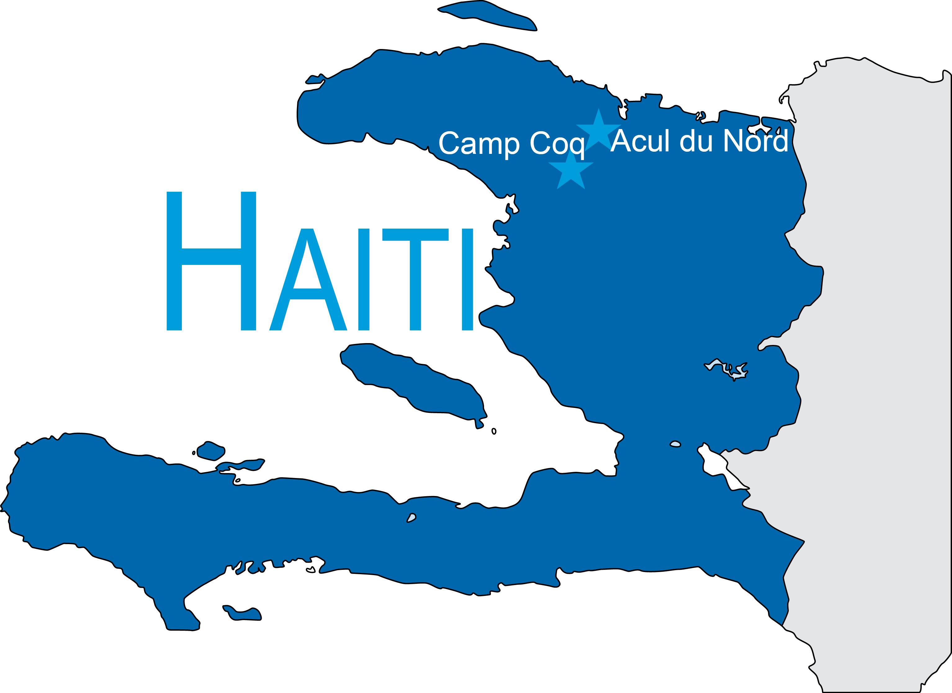 Haiti On Map Of World.Haiti Map With Adn Copy Care 2 Communities