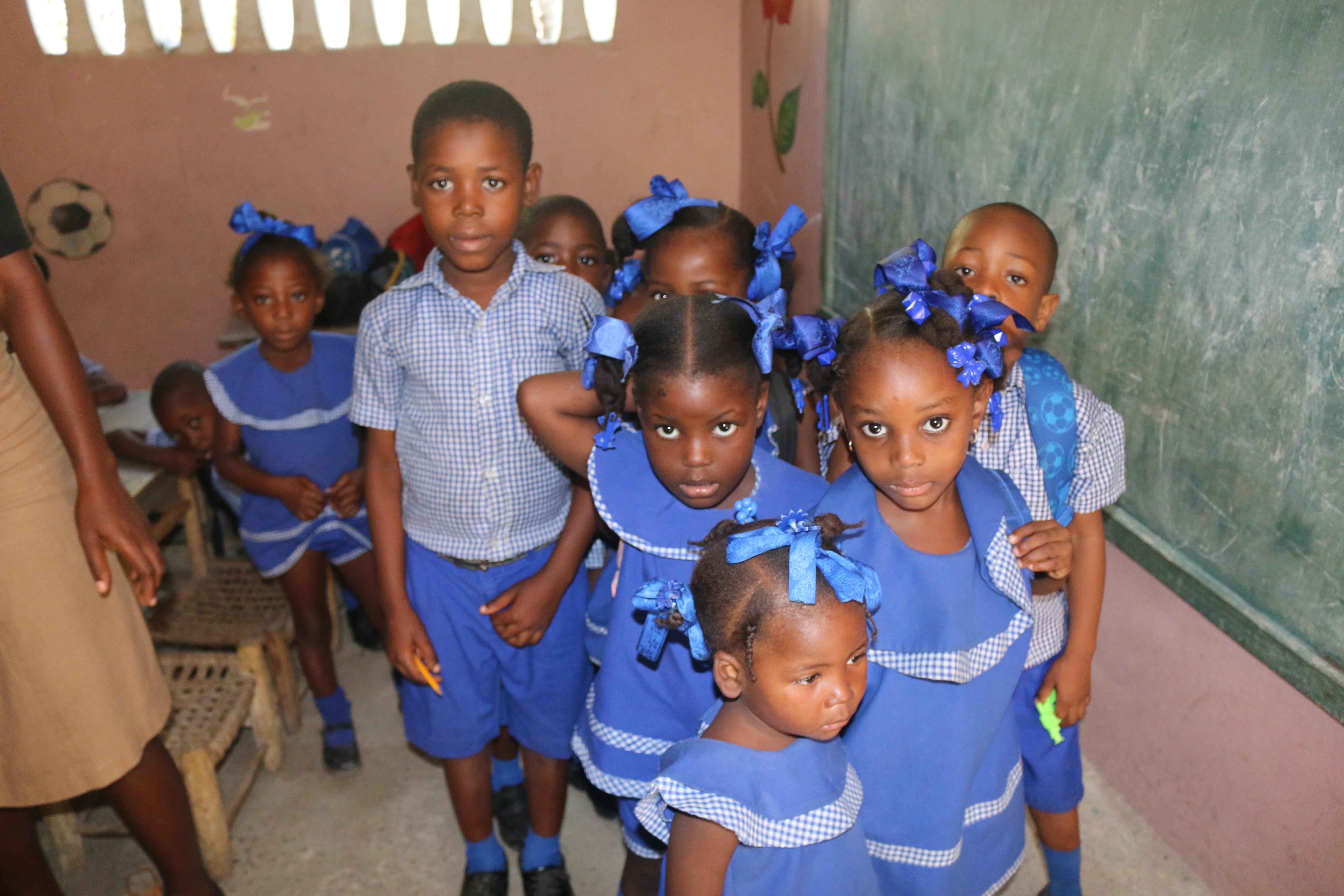 Vitamin Distribution to Children in Haiti