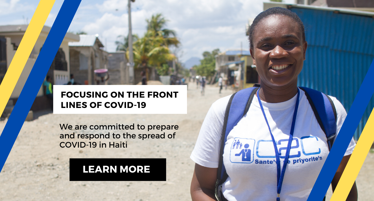Focusing on the front lines of COVID-19 in Haiti